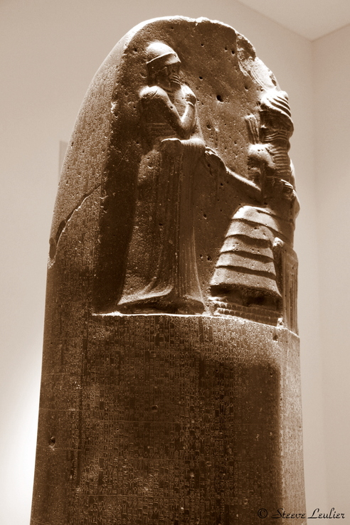 Le Louvre : le Code babylonien de Hammurabi