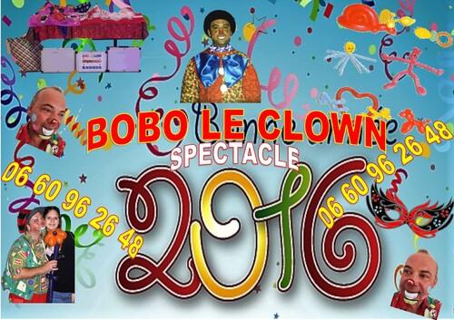 Bobo le clown Marseille animation anniversaire magie ballon Marseille