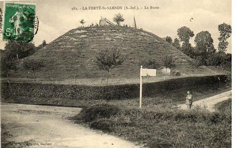 LES REMPARTS DE LA FERTE-SAINT-SAMSON (Seine-Maritime)