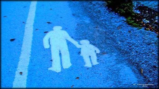 Promenade avec mon père