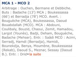 MCA-MC ORAN 1-2 SAISON 2005/2006