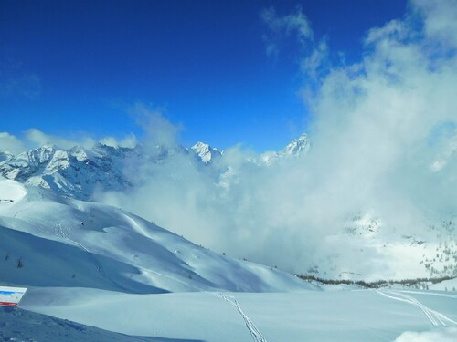 26/02/2018 Ski à Chamois Val D'Aoste Ao Italie