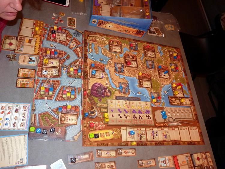 Les voyages de Marco Polo (plateau)