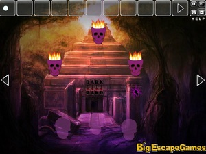 Jouer à Big Halloween templeland escape