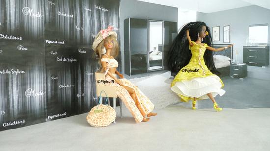 """Barbie en modèle """"Mazurka"""""""