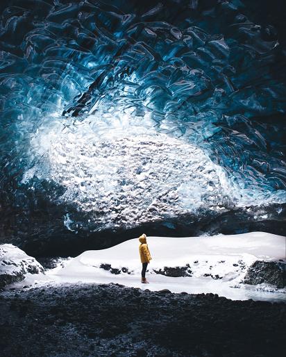 Grottes islandaises ...