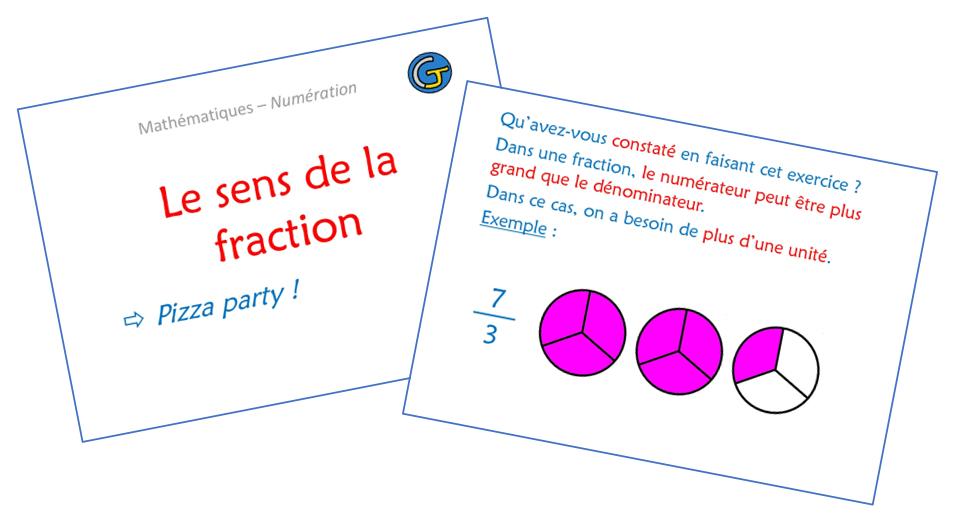 Le Sens De La Fraction Chez Monsieur Paul
