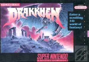 Drakkhen cover snes