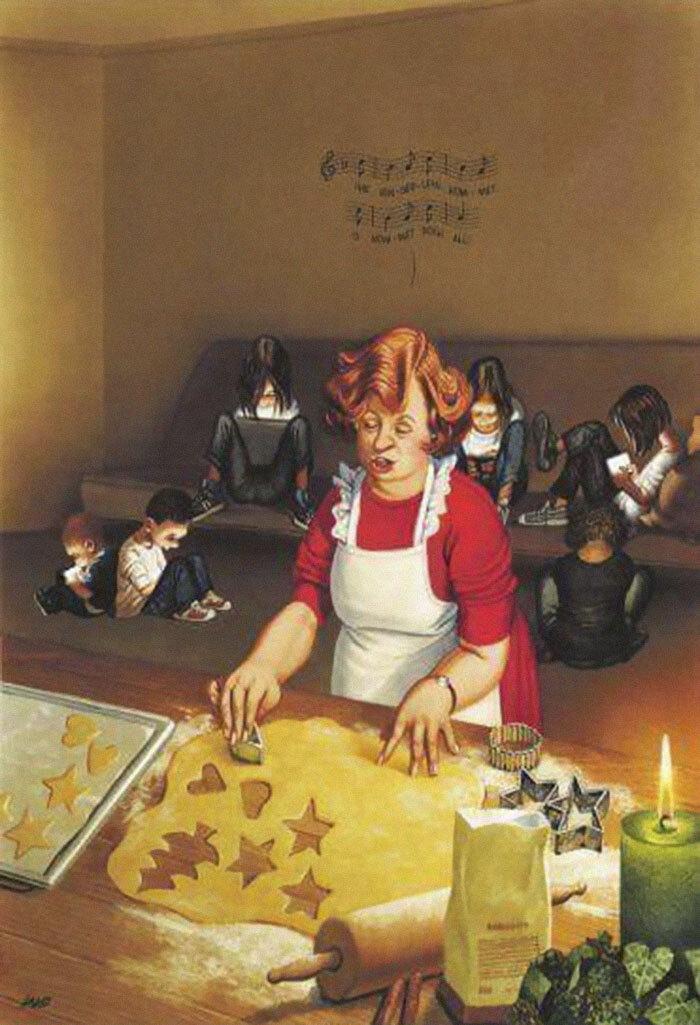 31 illustrations d'une franchise brutale par Gerhard Haderer qui montrent ce qui cloche avec la société moderne – ipnoze
