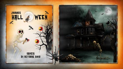Fond d'Écran pour Halloween