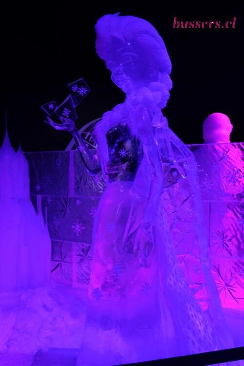 disney en glace à liège 2018
