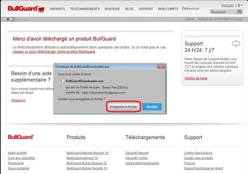 BullGuard Internet Security12 - Licence 180 jours gratuits