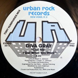 Diva Gray - Call Me I Got What You Want