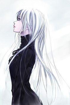 """Résultat de recherche d'images pour """"manga cheveux argent"""""""