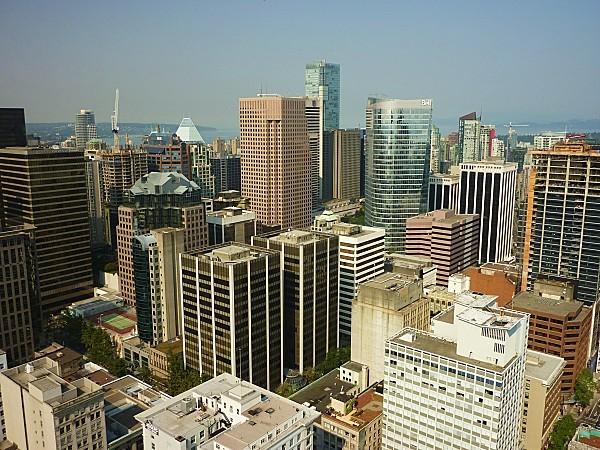 Jour 28 Vancouver vue de Lookout Tower 5