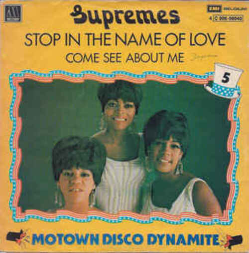 DIANA ROSS AND THE SUPREMES - Stop! In The Name Of Love (1965) (Motown)