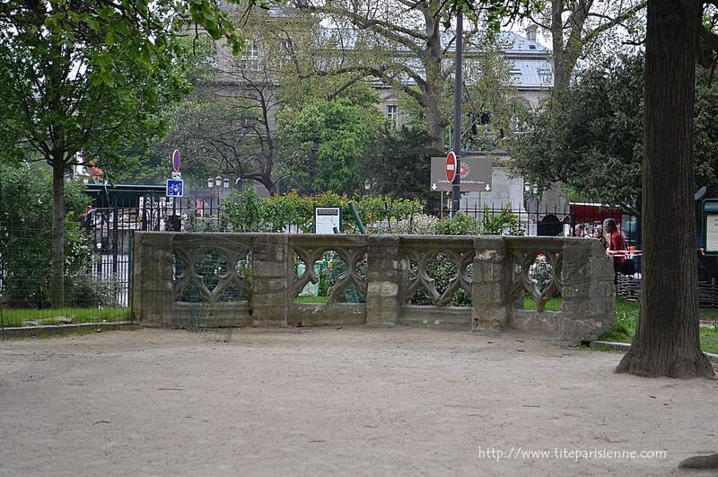 L'île de la Cité : Square René-Viviani - Montebello