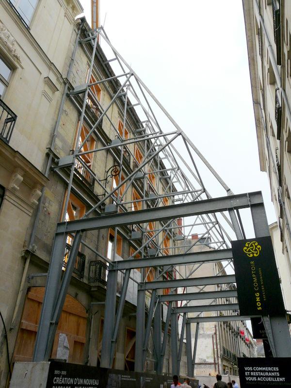Le Passage Pommeraye de Nantes...