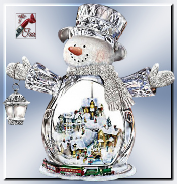 DN0034 - Tube bonhomme de neige