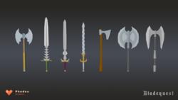 News : Bladequest, les idées se mettent en place