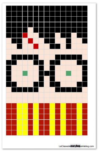Géométrie Pixel Art