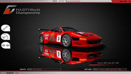 Ferrari 458 Italia GT3 Ferrari F142 550CV