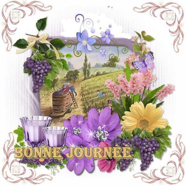 bonjour à tous mes amis(e)s .. je vous souhaite une belle journée de lundi  ensoleillée,dernier jour du mois de Juillet..et un excellent début de  semaine .. bisous Josie - Bonjour moi c'est