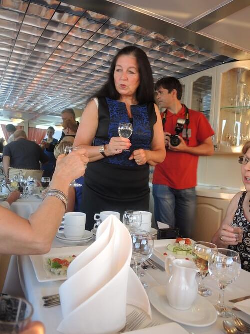 Croisière Russie- Jour 7- Diner du Commandant