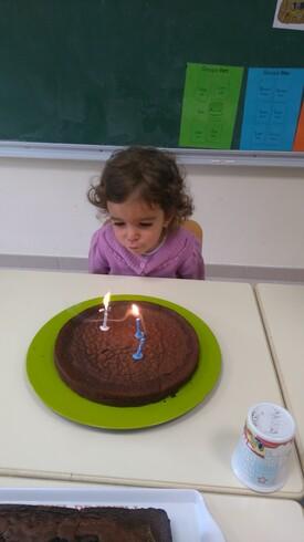Anna a trois ans !