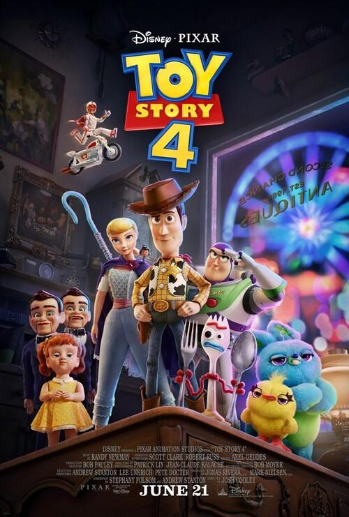 "Bonsoir a l'honneur : "" Toy Story 4 """