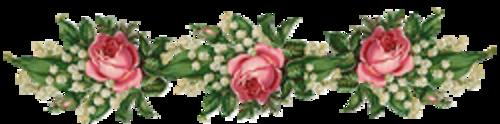 """"""" Roses et Muguets """" poème de Charles Cros"""
