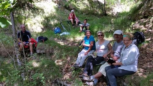 Séjour dans le Conflent 07/14 juillet Club de rando des Hautes Corbières