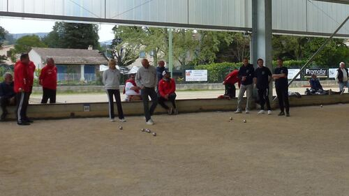 Qualificatif de ligue 14 & 15 Avril Grasse Pétanque