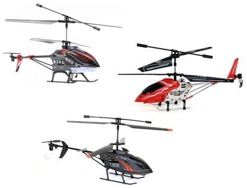 Hélicoptères 3 voies - Hommage