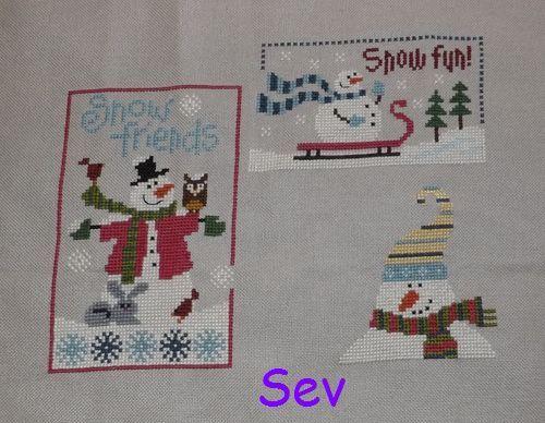 Nos Bonhommes d'hiver (9) - EDIT