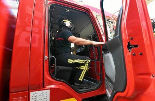 Les pompiers de Riec-sur-Bélon ont transporté la victime à l'hôpital de Quimperlé..