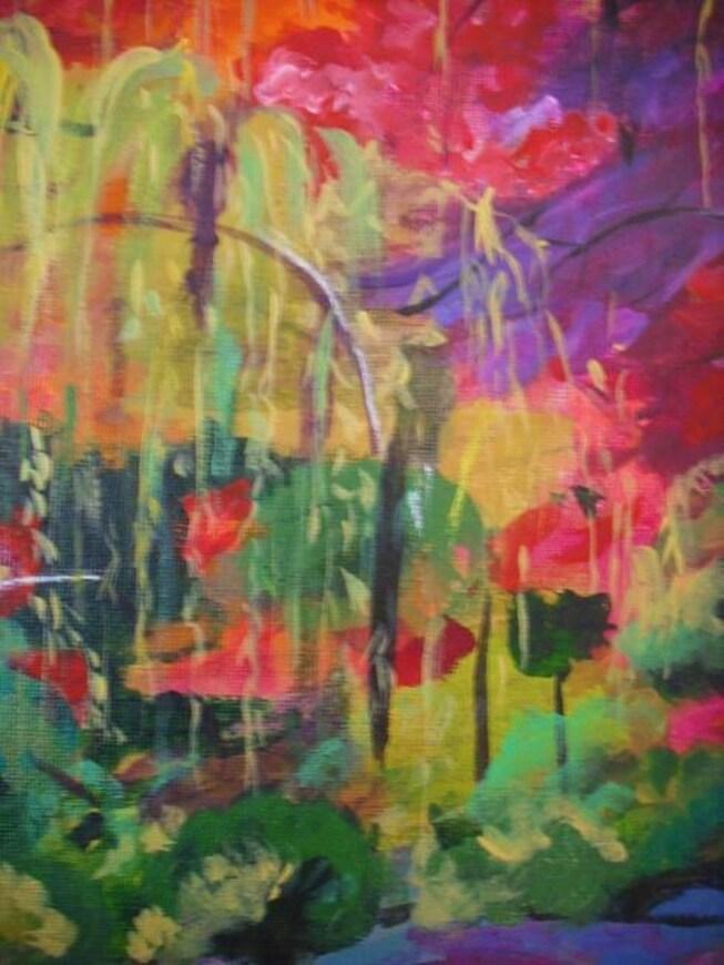 Un jardin aux mille couleurs