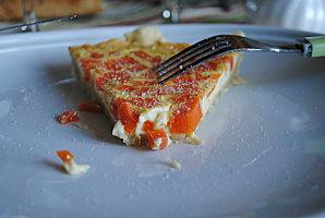 Quiche aux carottes et au cumin