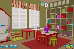 Jouer à Wow escape kids play room