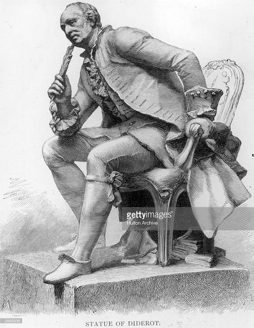 Né le 5 Octobre 1713, Denis Diderot, Balance ascendant Poissons