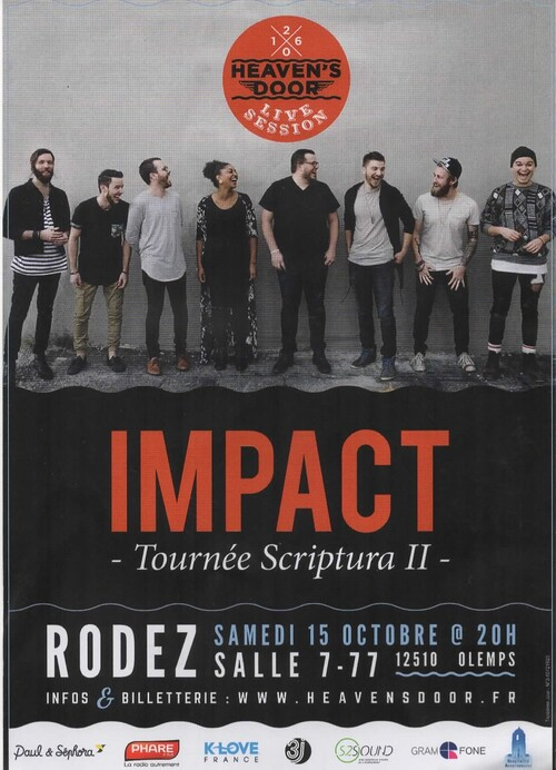 EVENEMENT 2016 = Le groupe Impact à RODEZ