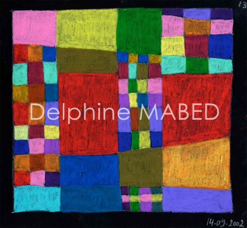 Cahier de carrés. Septembre 2002