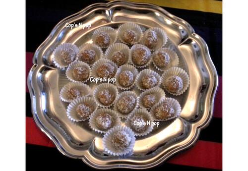 Caramels à la noix de coco