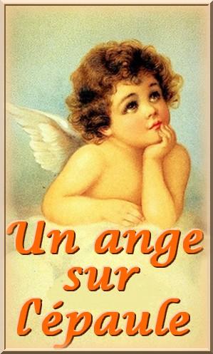Un ange sur l'épaule(pour les croqueurs de mots)