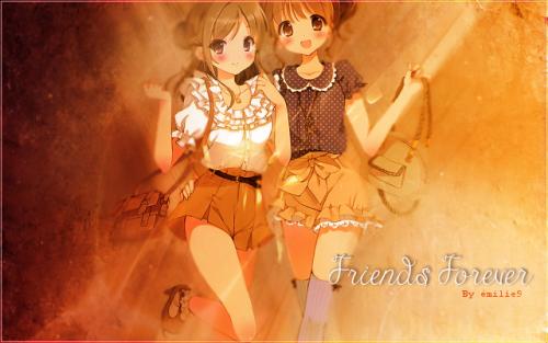 """Bannière """"Friends Forever"""""""