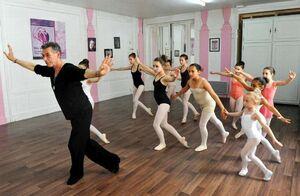 dance ballet class patrick dupont leila da tocha