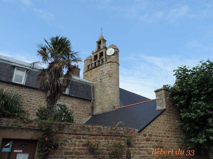 L'ile de Bréhat - le village & église -5