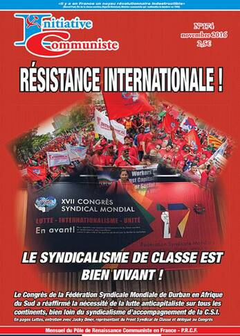 une-initiative communiste-174-novembre 2016