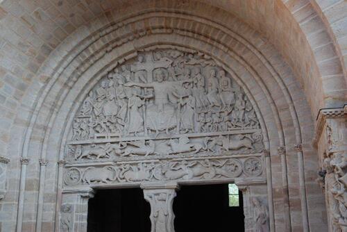 Sculpture du portail.