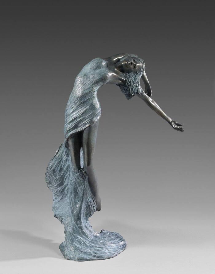 Les belles sculptures de bronze de Nathalie Seguin